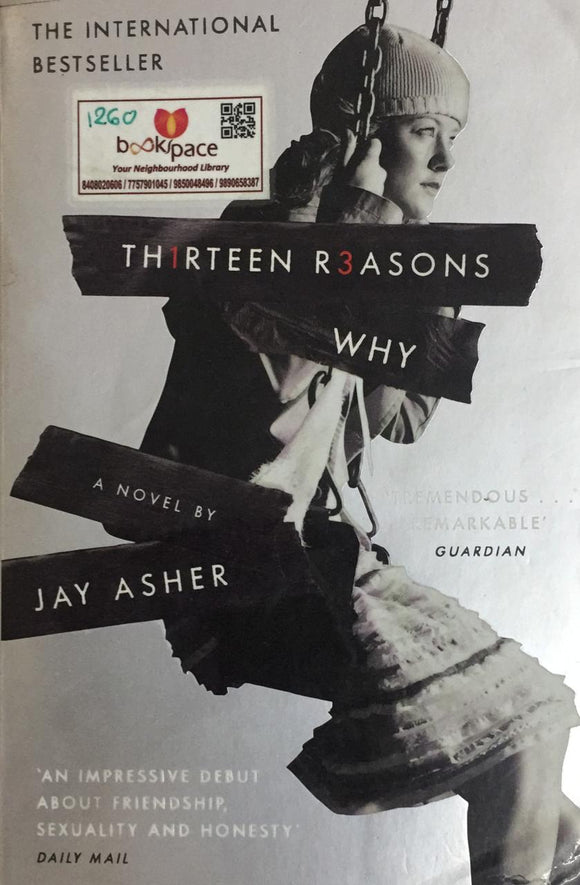 TH1RTEEN R3ASONS WHY, The International Bestseller, By Jay Asher