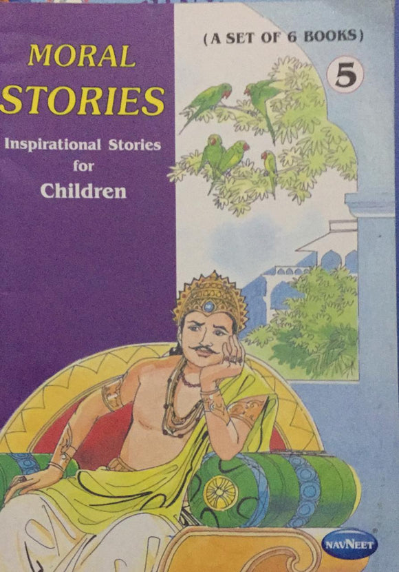 Moral Stories No. 5,   Inspirational Stories For Children (A Set of 6 Books)