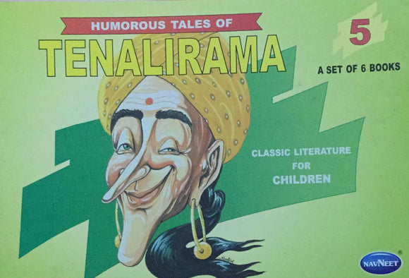 Tenalirama No. 5,   Humorous Tales, Classic Literature for Children (A Set of 6 Books)