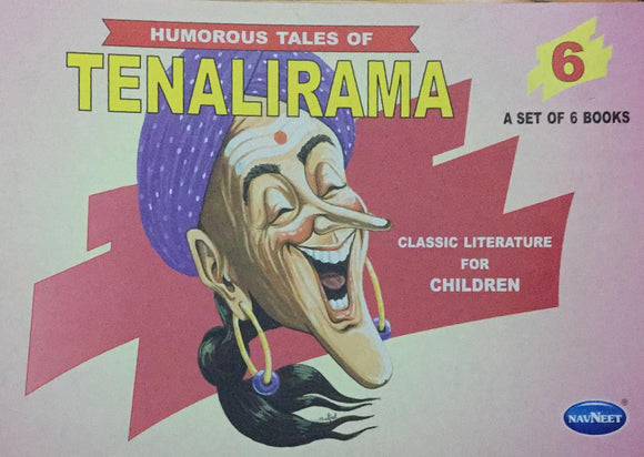 Tenalirama No. 6,   Humorous Tales, Classic Literature for Children (A Set of 6 Books)