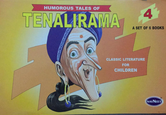 Tenalirama No. 4,   Humorous Tales, Classic Literature for Children (A Set of 6 Books)
