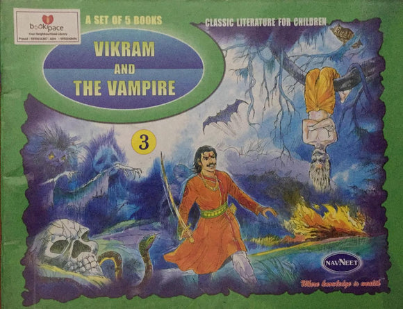 Vikram And The Vampire , Classic Literature For Children,     No. 3        (A Set of 5 Books)