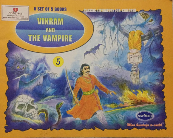Vikram And The Vampire , Classic Literature For Children,     No. 5        (A Set of 5 Books)
