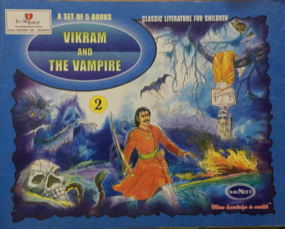 Vikram And The Vampire , Classic Literature For Children          No. 2        (A Set of 5 Books)
