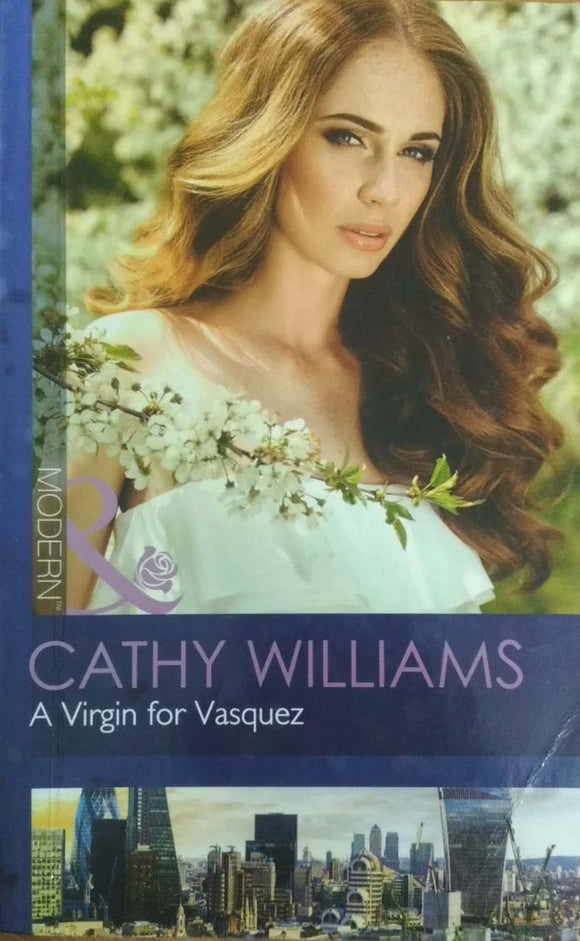 A Virgin for Vasquez by Cathy Williams