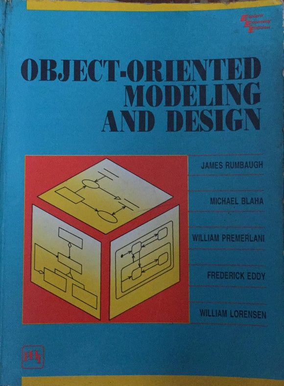 Object - Oriented Modeling and Design by James Rumbaugh, Michael Blaha