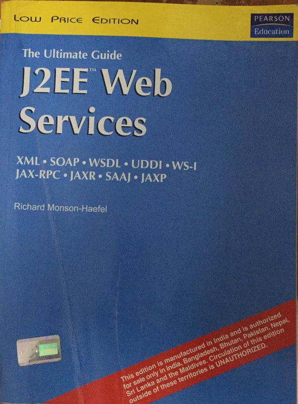 J2EE™ Web Services by Richard Monson Haefel