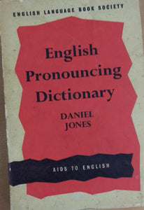English Pronouncing Dictionary James Hartman (Editor), Jane Setter