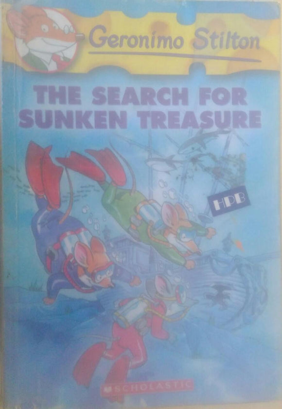 The Search for Sunken Treasure, By Geronimo Stilton