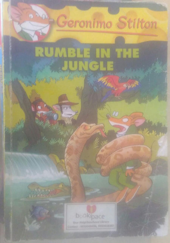 Rumble in the jungle, By Geronimo Stilton
