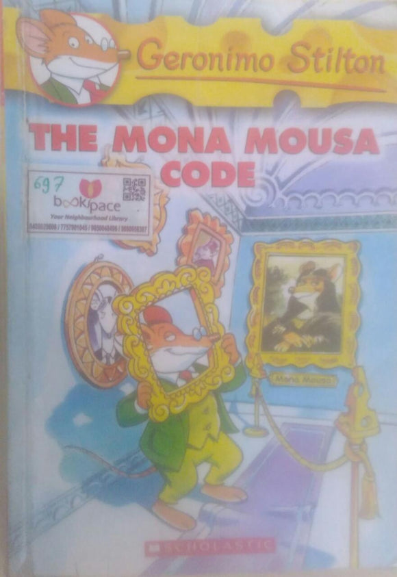 The Mona Mousa Code, By Geronimo Stilton