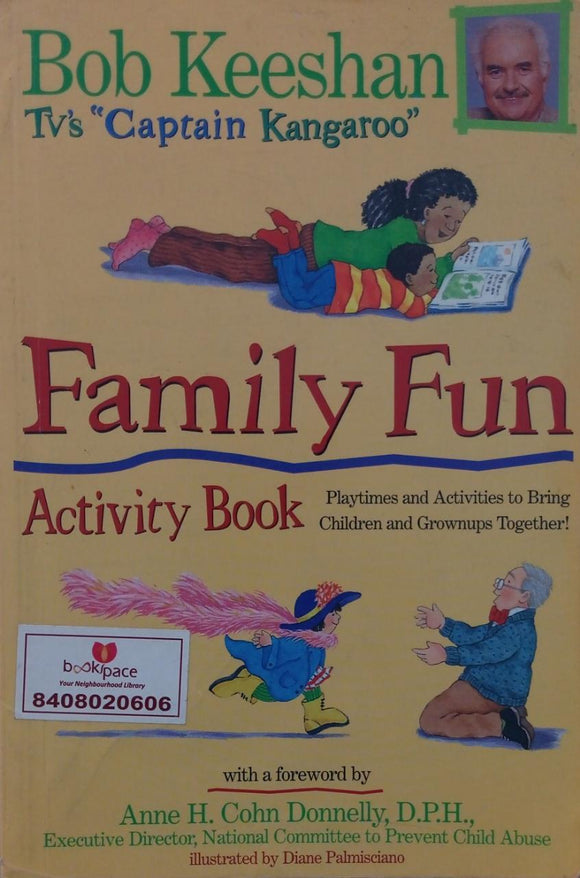 Family Fun , Activity Book, Bob Keeshan Tv's  CCaptain Kangaroo