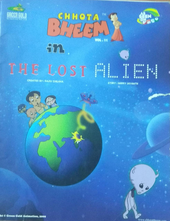 Chota Bheem in The Lost Alien