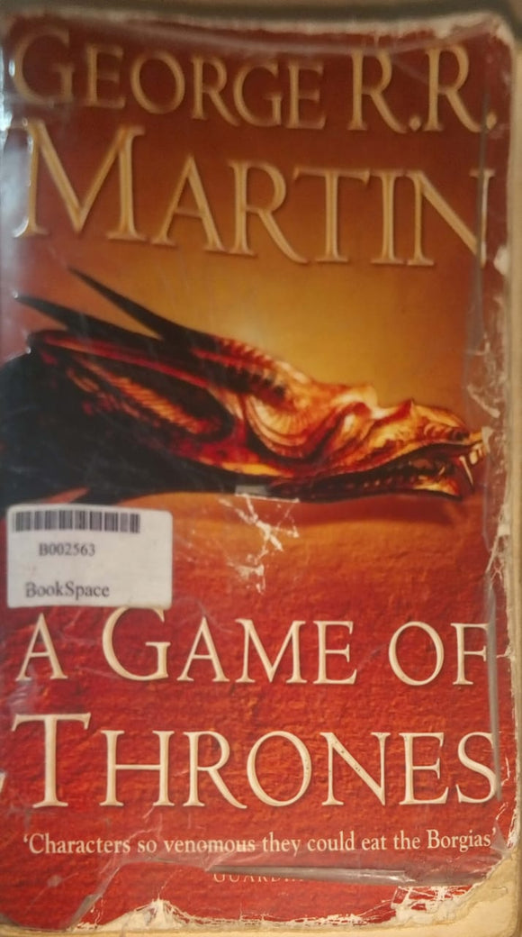 A Game of Thrones (A Song of Ice and Fire) by MARTIN GEORGE R R