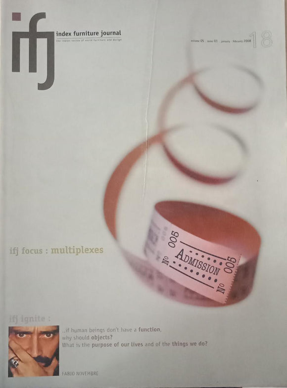 Index Furniture Journal Vol -5 January - February 2008