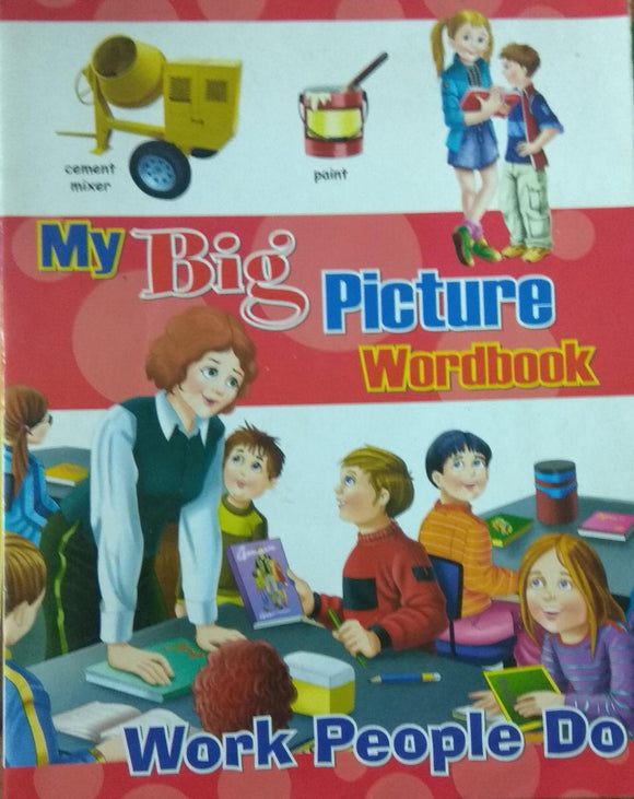 My Big Picture Word Book