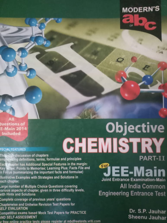 Objective Chemistry For Jee-Main