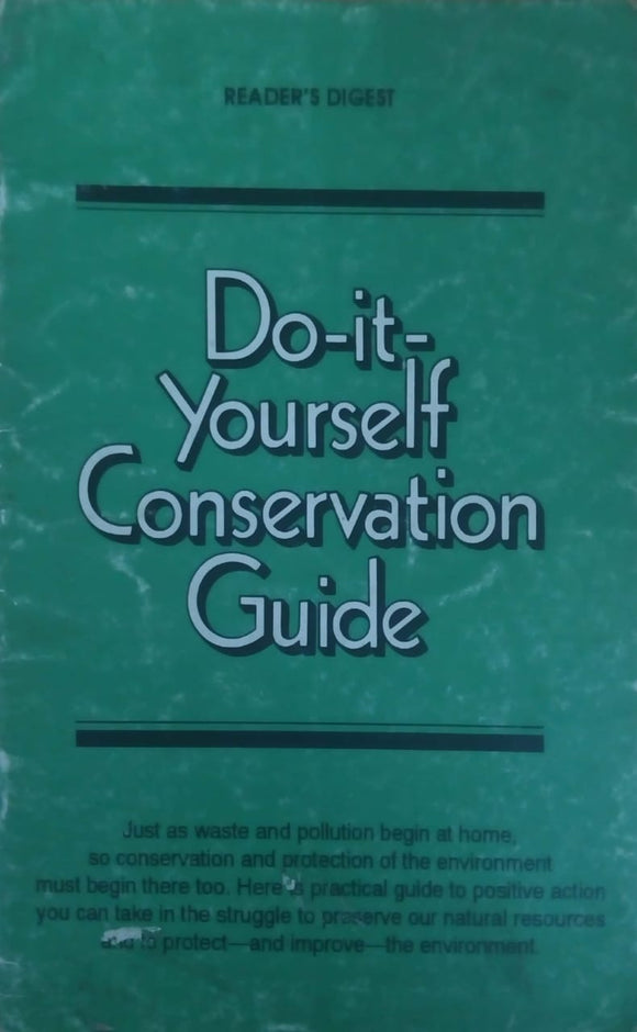 do-it-yourself conservation guide
