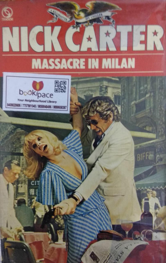 Massacre in Milan by Nick Carter