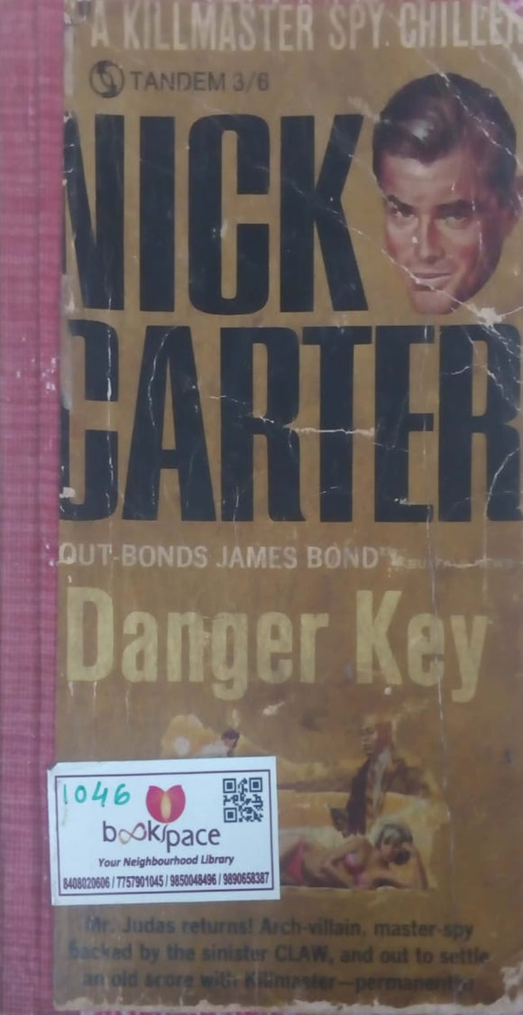 Danger Key by Nick Carter