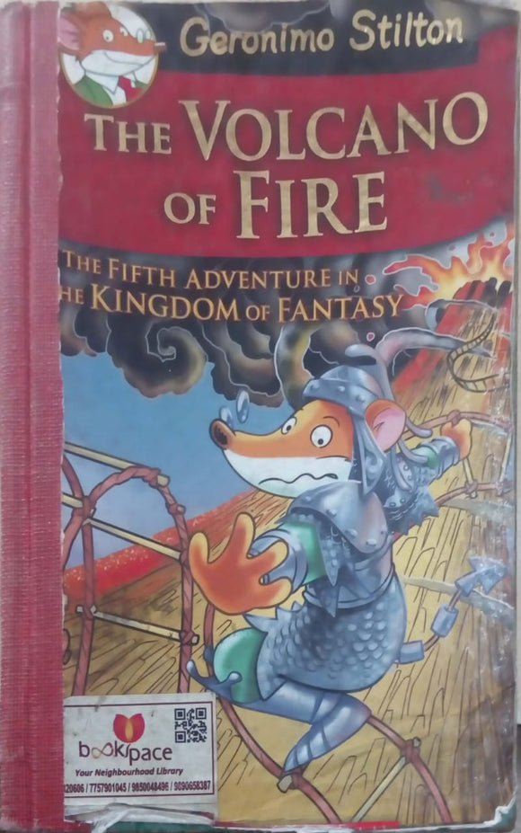 The Volcano of Fire: 5 Geronimo Stilton by Geronimo Stilton