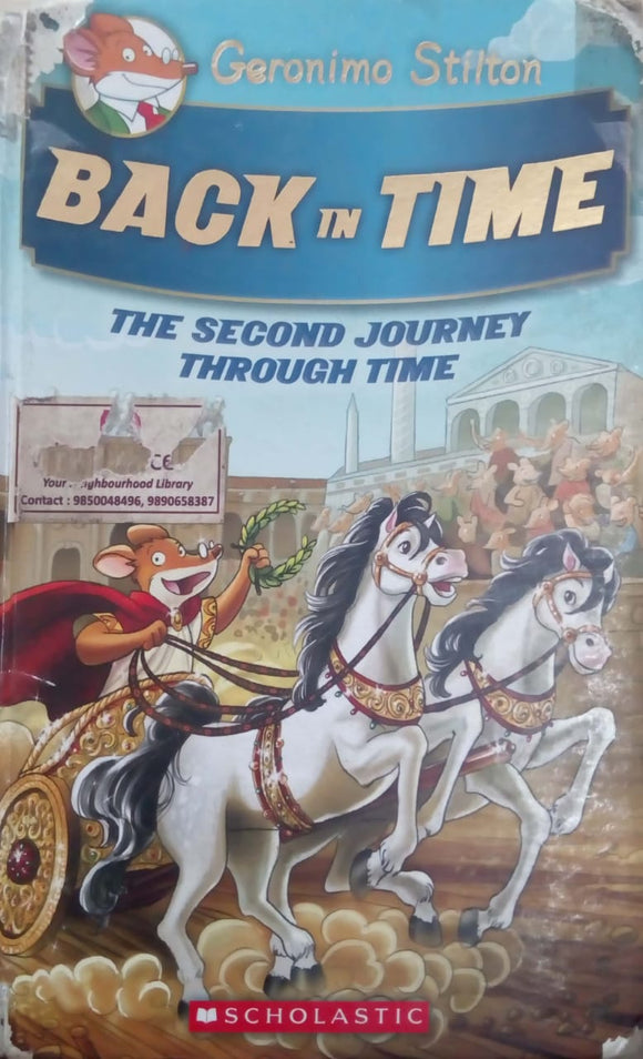 Geronimo Stilton Special Edition: Back in Time: The Second Journey Through Time (Geronimo Stilton: The Journey Through Time) by Geronimo Stilton