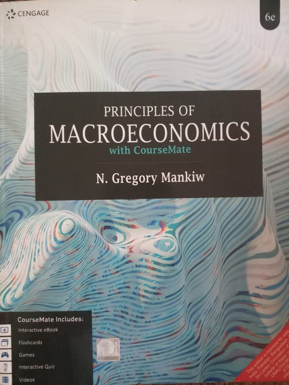 Principles Of Macroeconomics By N. Gregory Mankiw