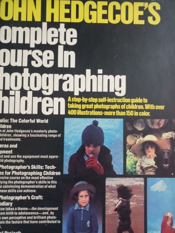 Complete Course In Photographing Children By John Hedgecoe's