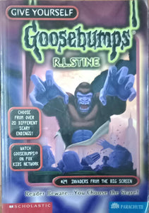 Invaders From The Big Screen (Give Yourself Goosebumps #29) by R.L. Stine