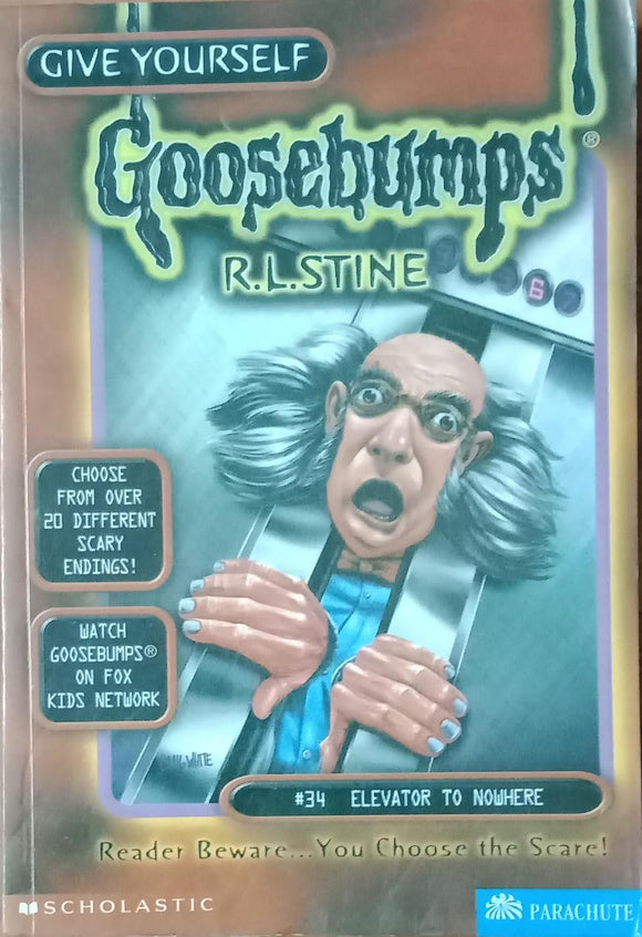 Elevator To Nowhere (Give Yourself Goosebumps #34) by R.L. Stine