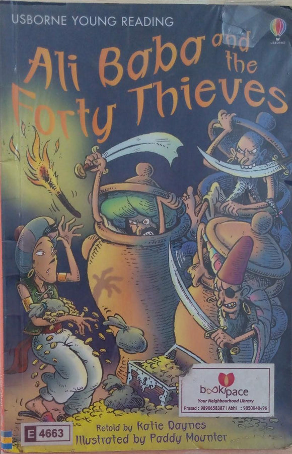 Ali Baba And the Forty Thieves Usborne First Reading