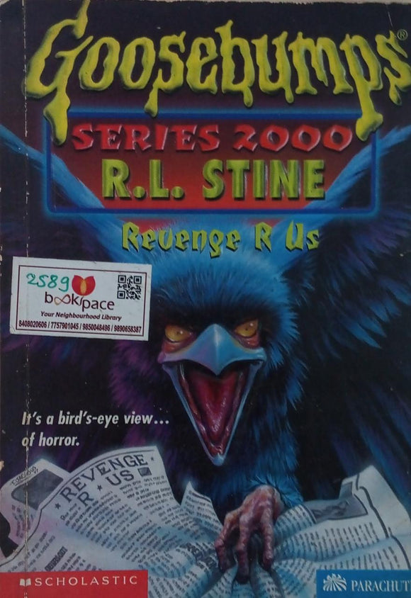 Revenge R Us Goosebumps  Series 2000 By R.l.Stine