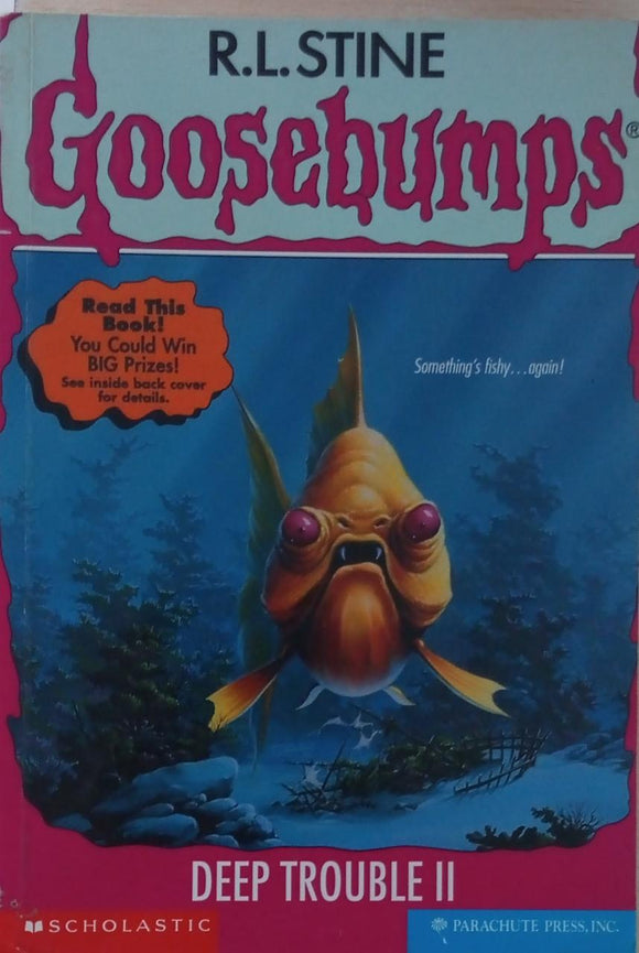 deep Trouble Goosebumps  By R.l.Stine