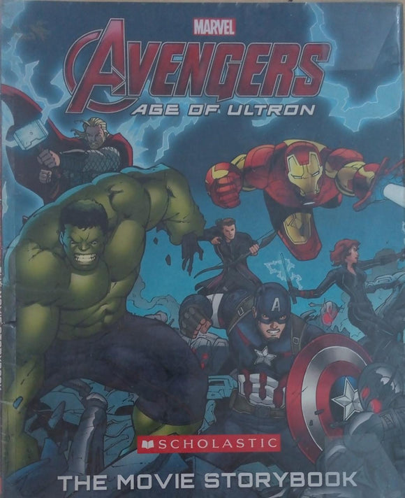 Avengers Age of ultron, The movie story book