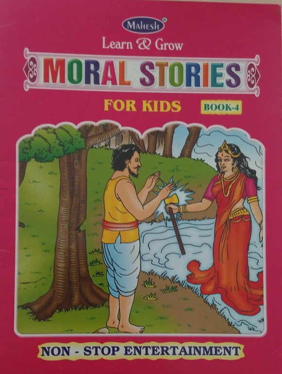 Learn & grow Moral stories for kids  Book-4