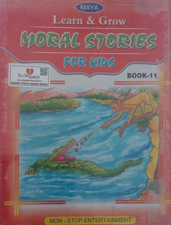 Learn & grow Moral stories for kids  Book-11
