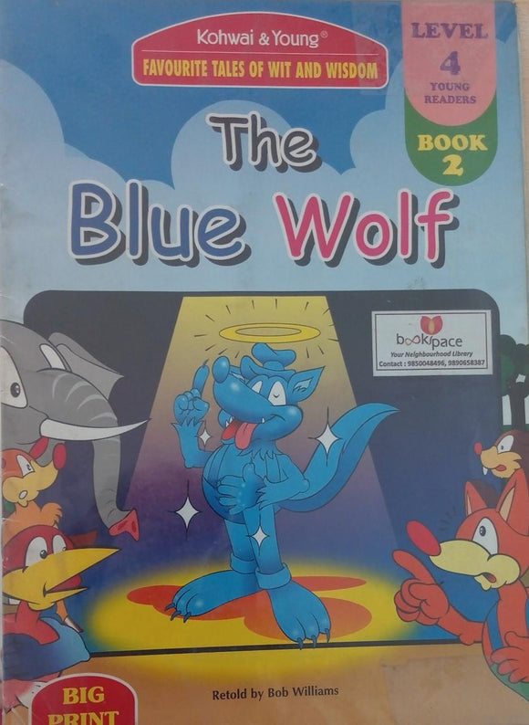 The blue wolf  Leve l4  Book 2