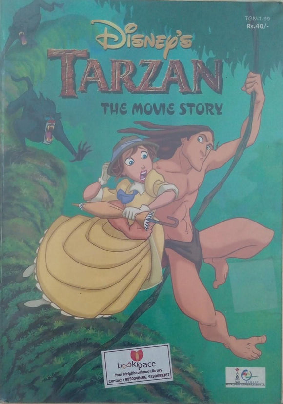 TARZAN THE MOVIS STORY DISNEY'S