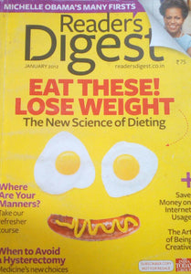 READER'S DIGEST INDIA JANUARY 2012