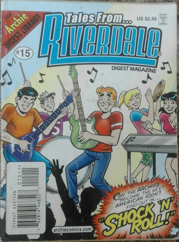 Tales From Riverdale Digest Magzine