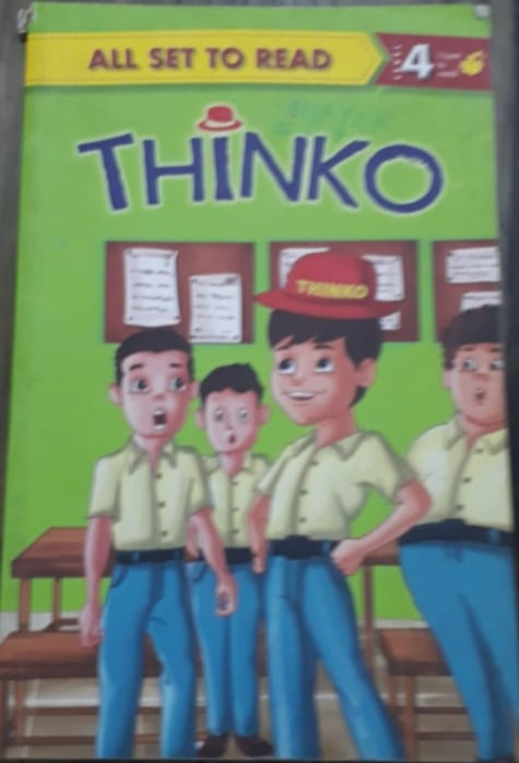 All Set to Read Level 4 Thinko