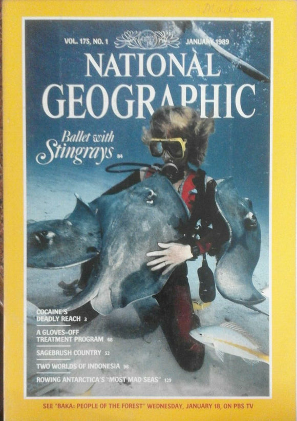 National Geographic Jan 1989