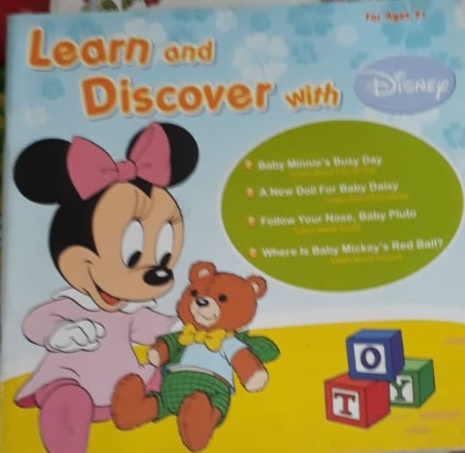 Learn and Discover with Disney For Ages 2 plus