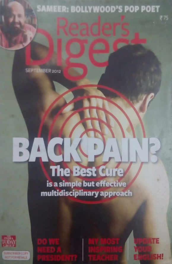 READER'S DIGEST INDIA SEPTEMBER 2012