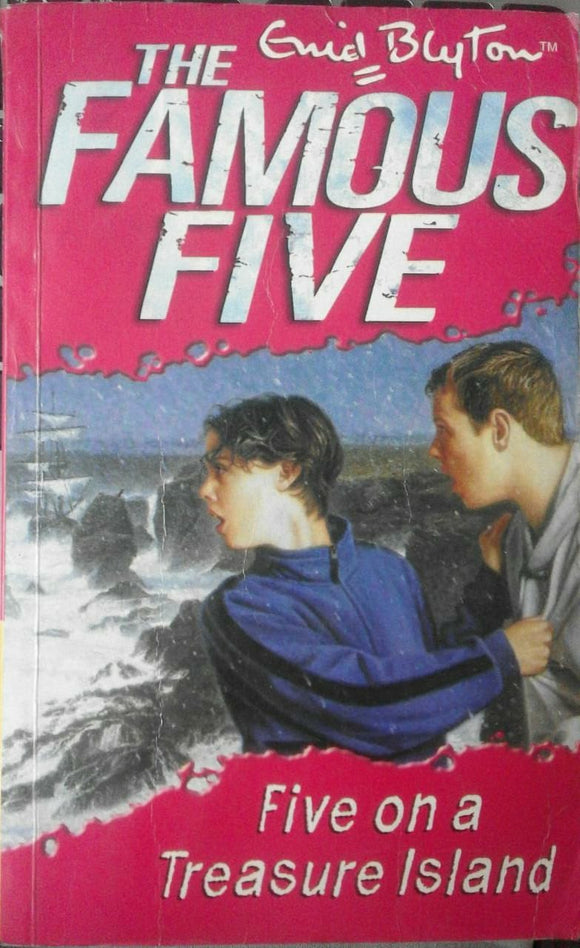 Five On The Treasure Island By Enid Blyton