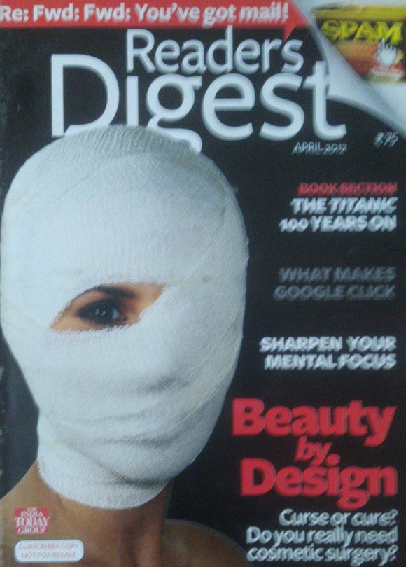 Readers Digest India April 2012