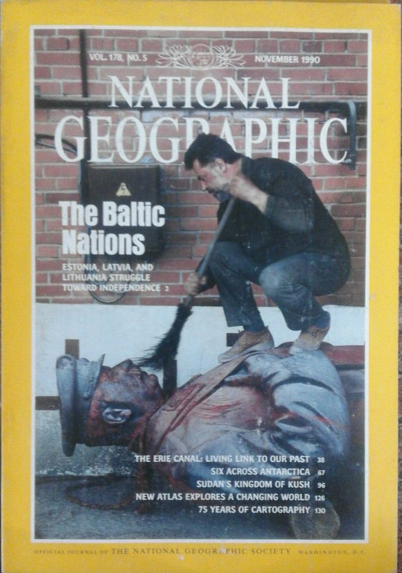 National Geographic Nov 1990