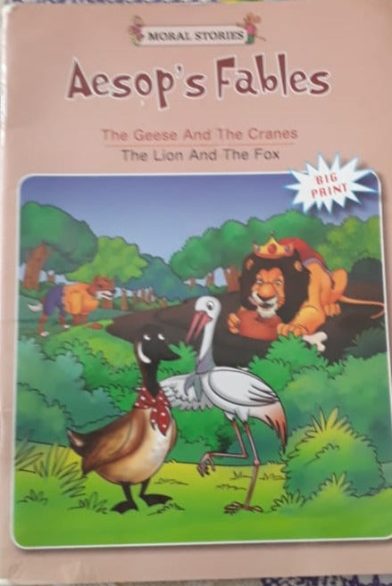 Aesop's Fables - The Geese and the Cranes and The Lion and the fox