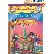 Thea Stilton: Big Trouble in the Big Apple: Big Trouble in the Big Apple - 08 (Geronimo Stilton)