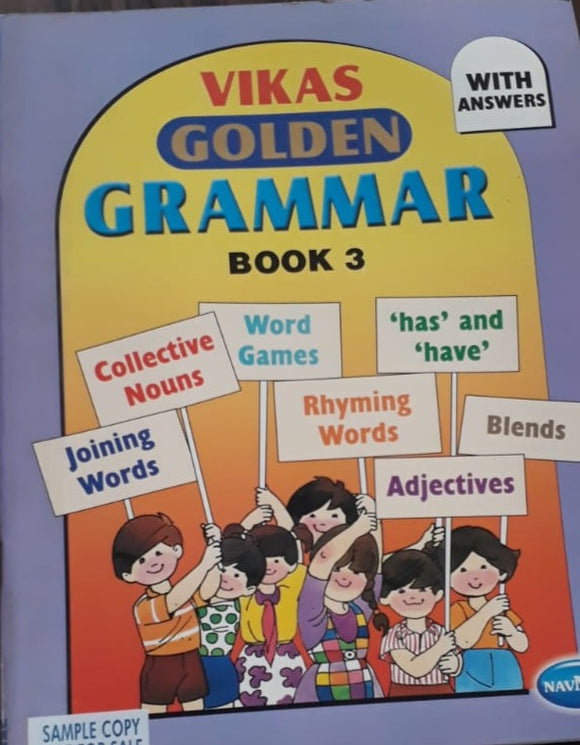 Vikas Golden Grammar Book 3